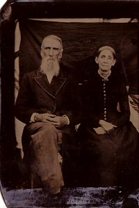 Richard W. Bradley (brother of A. W.) and his wife, Mary Jane Johnson