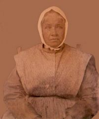 Zelpha Dorris Bradley  (1795-1864)  mother of A. W.   Her father, William Dorris, was a soldier in the Revolutionary War.