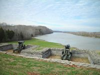 Battery at Fort Donelson